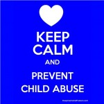 keep calm prevent child abuse